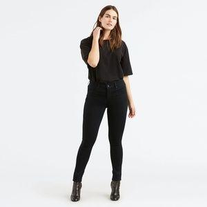 Levi's Women's Black 311 Shaping Skinny Jeans